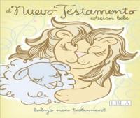 El  Nuevo Testamento Edicion Bebe/ Baby's  New Testament: La Biblia De Las Americas, Celeste, Imitacion Piel
