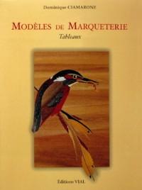 Modeles de marqueterie. tableaux