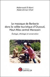 Le Macaque de Barbarie Dans la Vallee Touristique d'Ouzoud, Haut Atlas Central Marocain - Écologie,