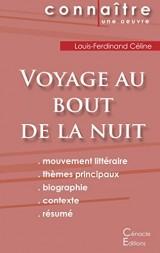Fiche de lecture voyage au bout de la nuit de Louis-Ferdinand Céline (complète)