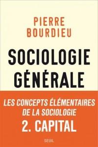 Sociologie générale - volume 2 Cours au collège de France (1983-1986)