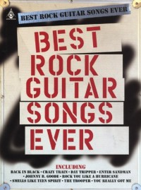 Best Rock Guitar Songs Ever. Partitions pour Guitare, Tablature Guitare