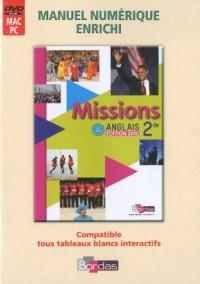 MVPI ADOPT MISSIONS 2DE 2010 Livre scolaire