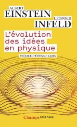 L'évolution des idées en physique [Poche]