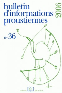 Bulletin d'Informations Proustiennes, N° 36 :