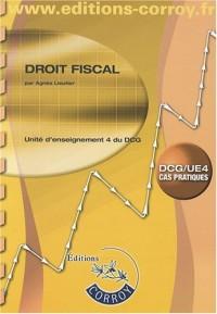 Droit fiscal UE4 du DCG : Enoncé