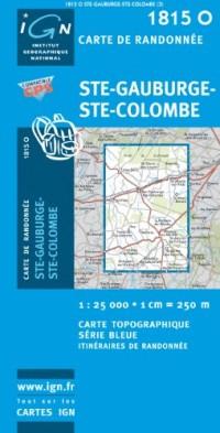 Carte de randonnée : Ste-Gauburge-Ste-Colombe