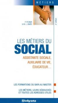 Les métiers du social