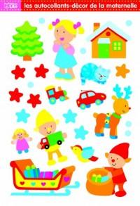 Les autocollants-décor de la maternelle (traîneau)