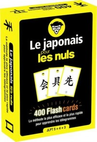 Le japonais pour les Nuls flashcards