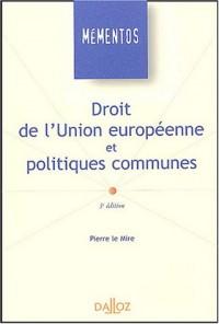 Droit de l'Union européenne et politiques communes