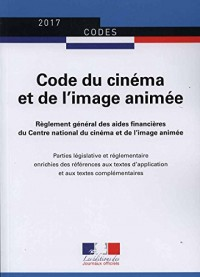 Code du cinéma et de l'image animée - Législation et réglementation