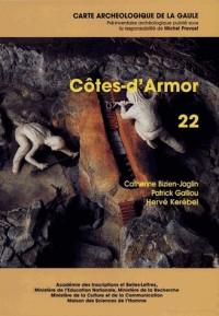 Carte archéologique de la gaule. nø22 cotes-d'armor