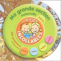 Les P'tits Incollables : Tournicotis, ma grande section maternelle, 5-6 ans : La Découverte du monde (Livre d'activités)