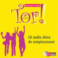 TOR 1RE ANNEE CD AUDIO ELEVE Livre scolaire