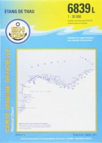 Carte marine : Etang de Thau