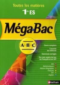 Méga-Bac 1e ES : Toutes les matières