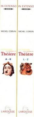 Coffret 2 exemplaire dictionnaire  encyclopédique theatre