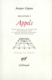 Registres, I:Appels