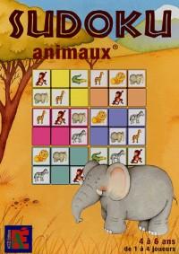 Sudoku Animaux 4 à 6 ans