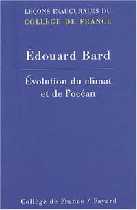 Évolution du climat et de l'océan
