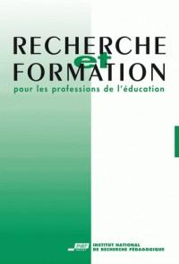 Recherche et Formation, N  042/2003. l'Analyse de l'Activité. Approch Es Situees