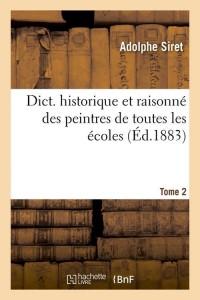 Dict  Historique des Peintres  T 2  ed 1883