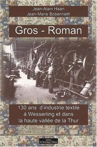 Gros-Roman : 130 ans d'industrie textile à Wesserling et dans la haute vallée de la Thur
