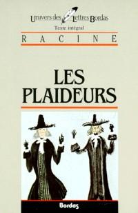 RACINE/ULB PLAIDEURS    (Ancienne Edition)