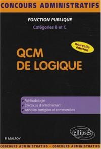 QCM de logique : Catégories B et C