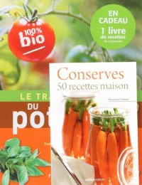 Le traité Rustica du potager ; Conserves 50 recettes maison : Pack en 2 volumes