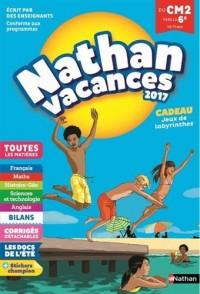 Nathan Vacances 2017 primaire - Du CM2 vers la 6ème - Cahier de vacances
