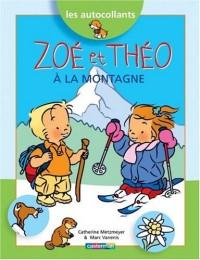 Zoé et Théo à la montagne