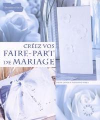 Creez vos faire-part de mariage