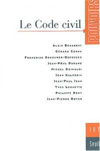 Revue Pouvoirs, numéro 107 : Le Code civil