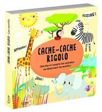 Cache-cache rigolo : Cherche et compte les animaux en observant les motifs !