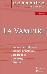 Fiche de Lecture la Vampire de Paul Feval Analyse Litteraire de Reference et Res