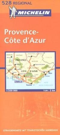 Michelin Provence, Französische Riviera 1 : 200 000.