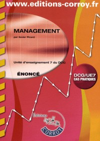 Management Enonce - Ue 7 du Dcg
