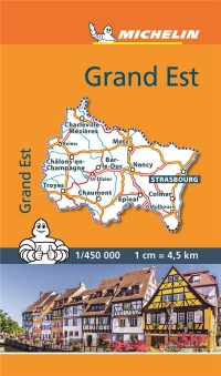 Mini Carte Grand Est Michelin