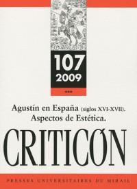 San Augustin en Espana (siglos XVIe-XVIIe) : estética