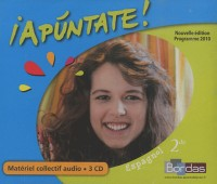 Coffret Apuntate 2de 3 CD Audio Classe 2010