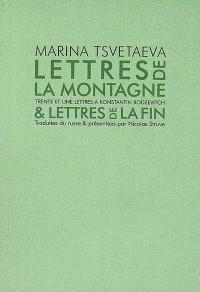 Lettres de la montagne et lettres de la fin