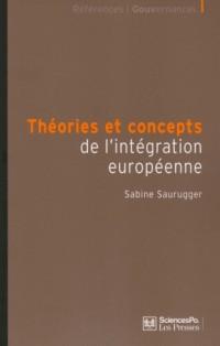 Théories et concepts de l'intégration européenne
