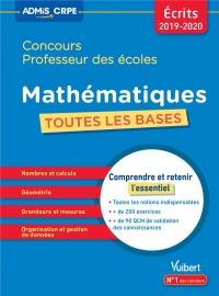 Mathématiques concours professeur des écoles : Toutes les bases