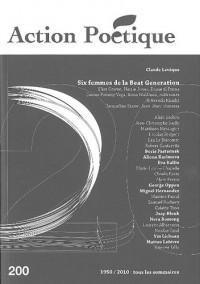Action Poétique, N° 200 : Six femmes de la Beat Generation