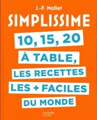 Simplissime 10, 15, 20 à table
