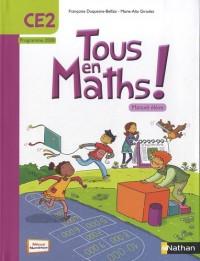 Tous en maths CE2 - manuel