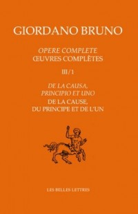 Oeuvres complètes III/1