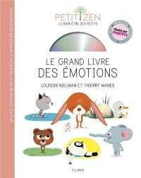 Le grand livre des émotions (livre CD) - Petit zen